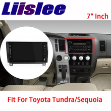 Liislee для Toyota Tundra/Sequoia 2007 ~ 2015 аудиомагнитолы автомобильные видео навигации gps Мультимедиа стерео плеер
