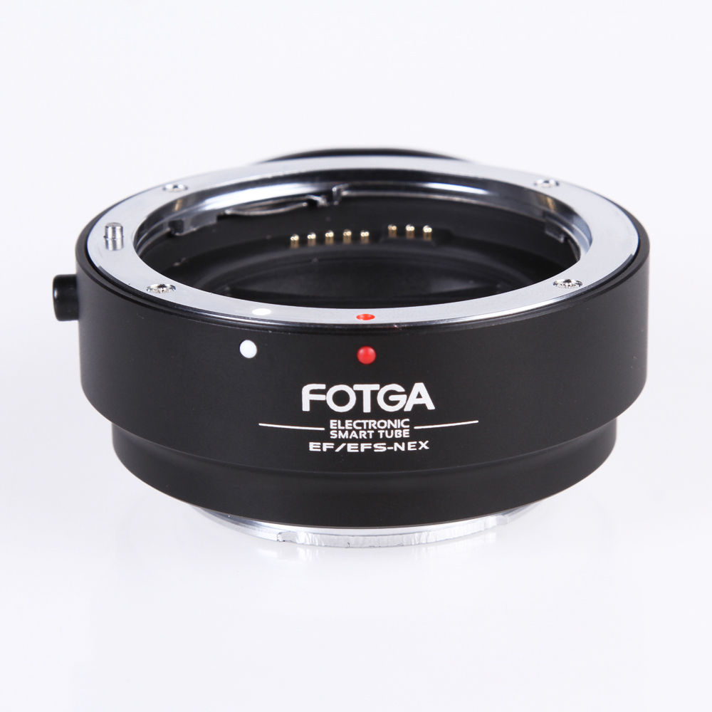 FOTGA Electronic AF Auto Focus Lens Adapter for Canon EF EF-S to Sony E NEX A7 A7R Full Frame