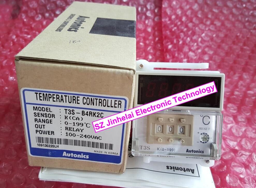 New and original T3S-B4RK2C AUTONICS 100-240VAC Temperature controller