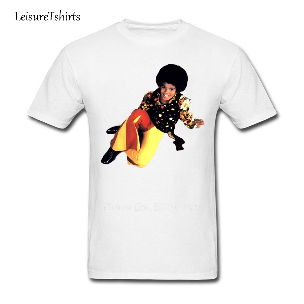 Black t shirt michaels - Michael Jackson T Shirt Normal Comfortable T Shirt Men Short Sleeve O Neck Tee Shirt Guys New Style Personality Plus Size Top
