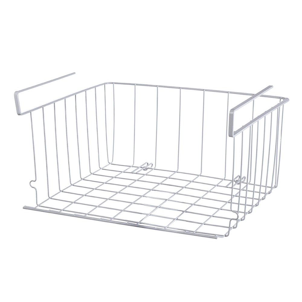 Multifunction Overlay Under Shelf Basket Cabinet Storage
