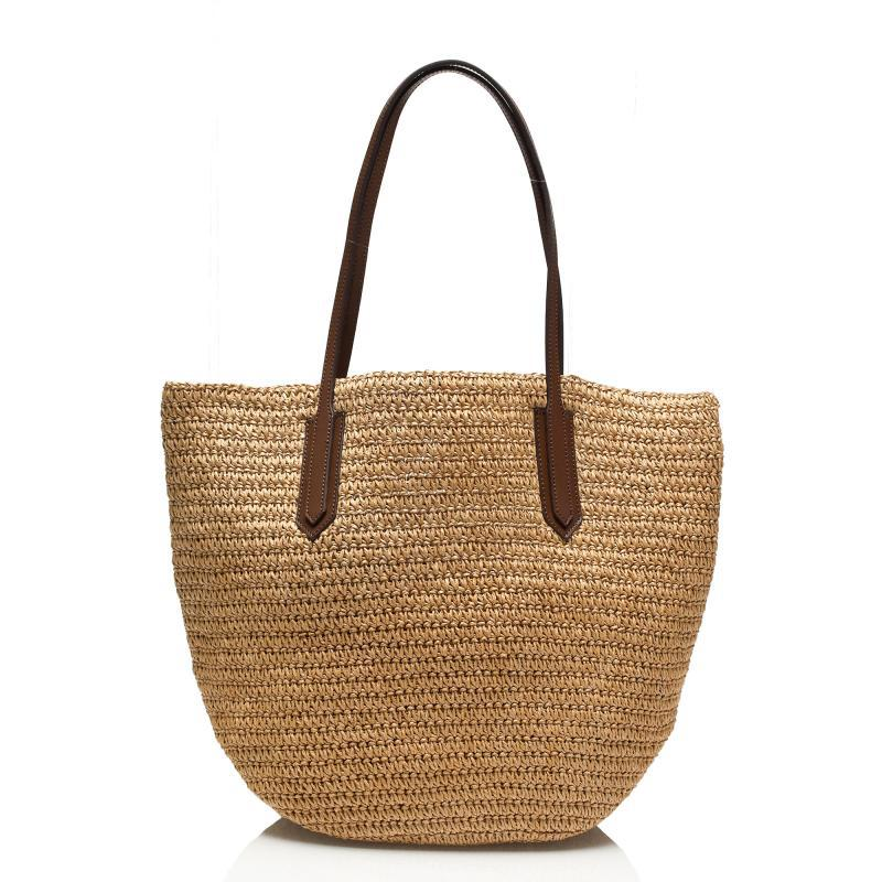 female bag beach bag one shoulder star in straw bales the cane makes up the high quality for a holiday A2336