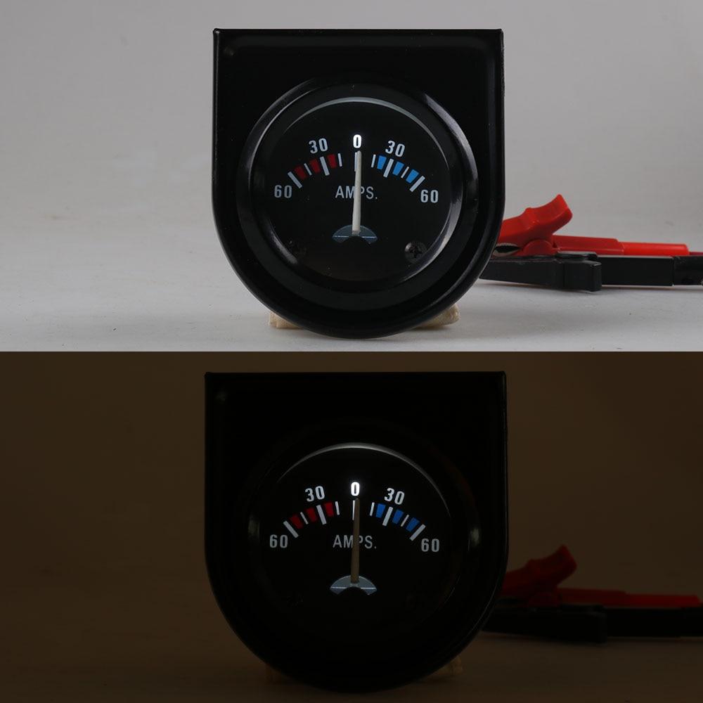 """Измеритель амперметра """" 52 мм 60-0-60 Амперметр 12 вольт лодочный грузовик atv Амперметр автомобильный измеритель YC100006"""