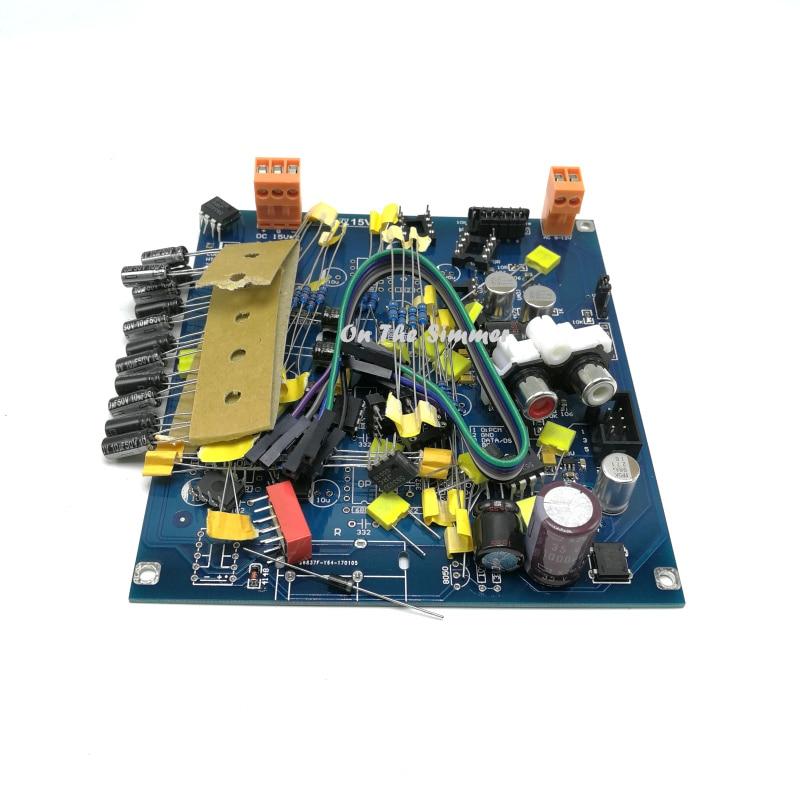 DSD input I2S DIY KIT HIFI AK4495SEQ DAC KIT Official standard circuit