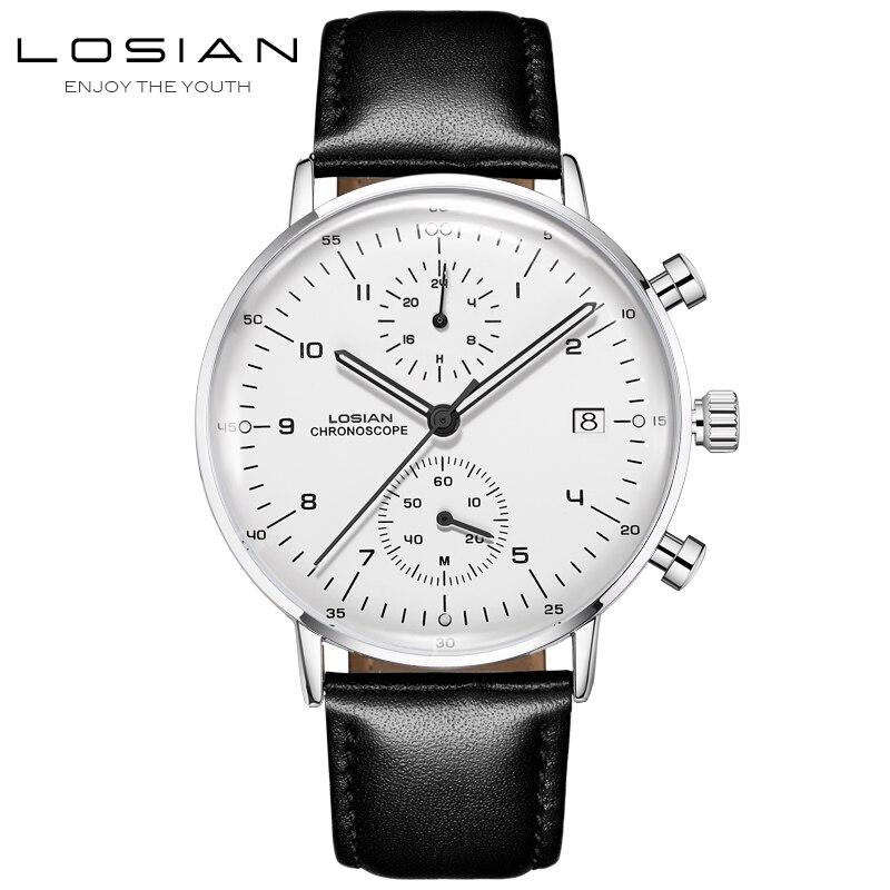 Mens Watches Top Brand Luxury Simple Day Date Wrist Watches Waterproof Luminous Stainless Steel Watch Bracelet