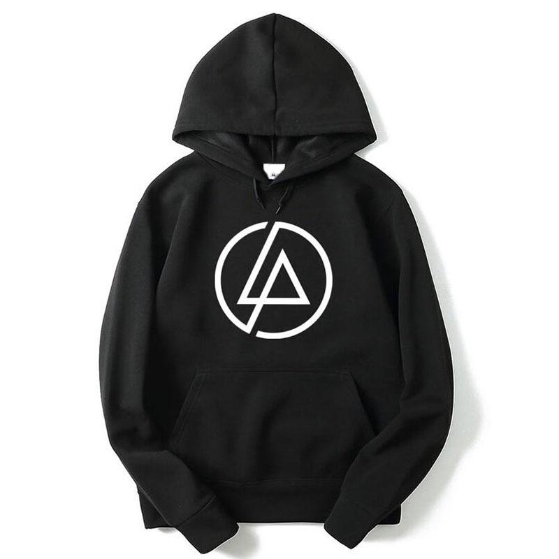 IMMEN Men's Cotton Hoodies & Sweatshirts Long Sleeve O ... |Linkin Park Vest