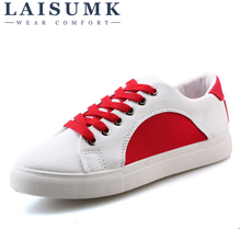 2019 LAISUMK Unisex Men Fashion Sneakers Flats Casual Shoes Men Canvas Shoes Walking Breathable Spring Shoes yjrvfine wonderful meteor shower men casual shoes walking comfortable breathable unisex canvas pure hand painted shoes r1029m