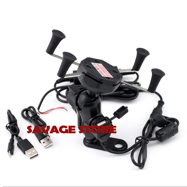 Motorcycle Navigation Frame Navigation Mount Bracket with USB charge port For YAMAHA YZF-R3 YZF-R25 YZF R3 R25 for yamaha yzf r25 2014 2015 yzf r3 2015 2016 mt 25 2015 2016 mt 03 2016 2017 navigation bracket with usb charge port