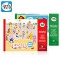 Более 145 Шт. многоразовые наклейки pad, каждый с 5 сцен для Детей Ребенок классические игрушки, детские наклейки educatonal игрушки, бесплатная доставка