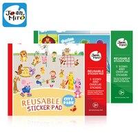 Более 145 шт. многоразовые наклейки площадку, каждый с 5 сцены для детей Классические игрушки, детские наклейки educatonal игрушки, бесплатная дост...