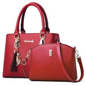 Image 5 - Sac à main polyvalent pour femmes, sac à bandoulière Simple et en diagonale, sac Composite printemps et automne, Fashion C41 67