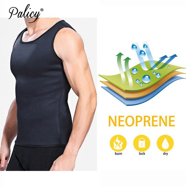 Sauna Vest Body Shaper Neoprene Promote Sweat Waist Trainer Tummy Slimming Shapewear Male Modeling Belts Losing Weight Workout 1