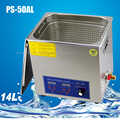 1PC 14L 240W 110V/220V PS 50AL Precision Accessories / Hand mold / Electronic Materials Ultrasonic Cleaning Machine Hot