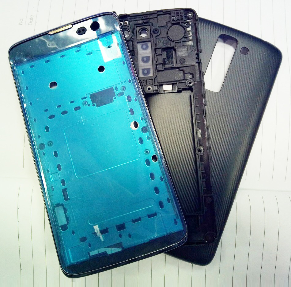 For LG K7 X210 X210DS Frame Front Chassis Middle Camera Bezel Frame Back Rear Battery Cover
