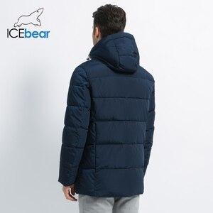 Image 4 - 2019 nouveaux hommes manteau dhiver de haute qualité homme veste mode vêtements pour hommes chaud mâle Parka MWD19835D