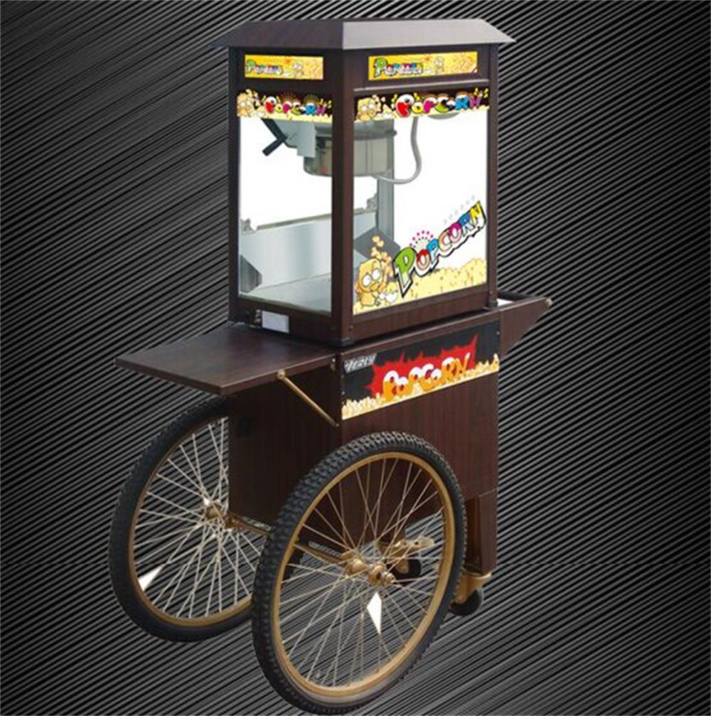 commercial automatic caramel making popcorn machine price