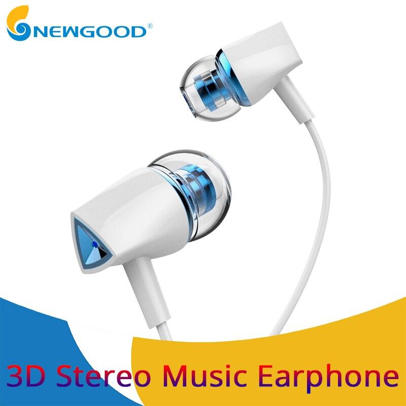 Earphones In Ear Stereo Earphone Headset 3 5mm With Mic