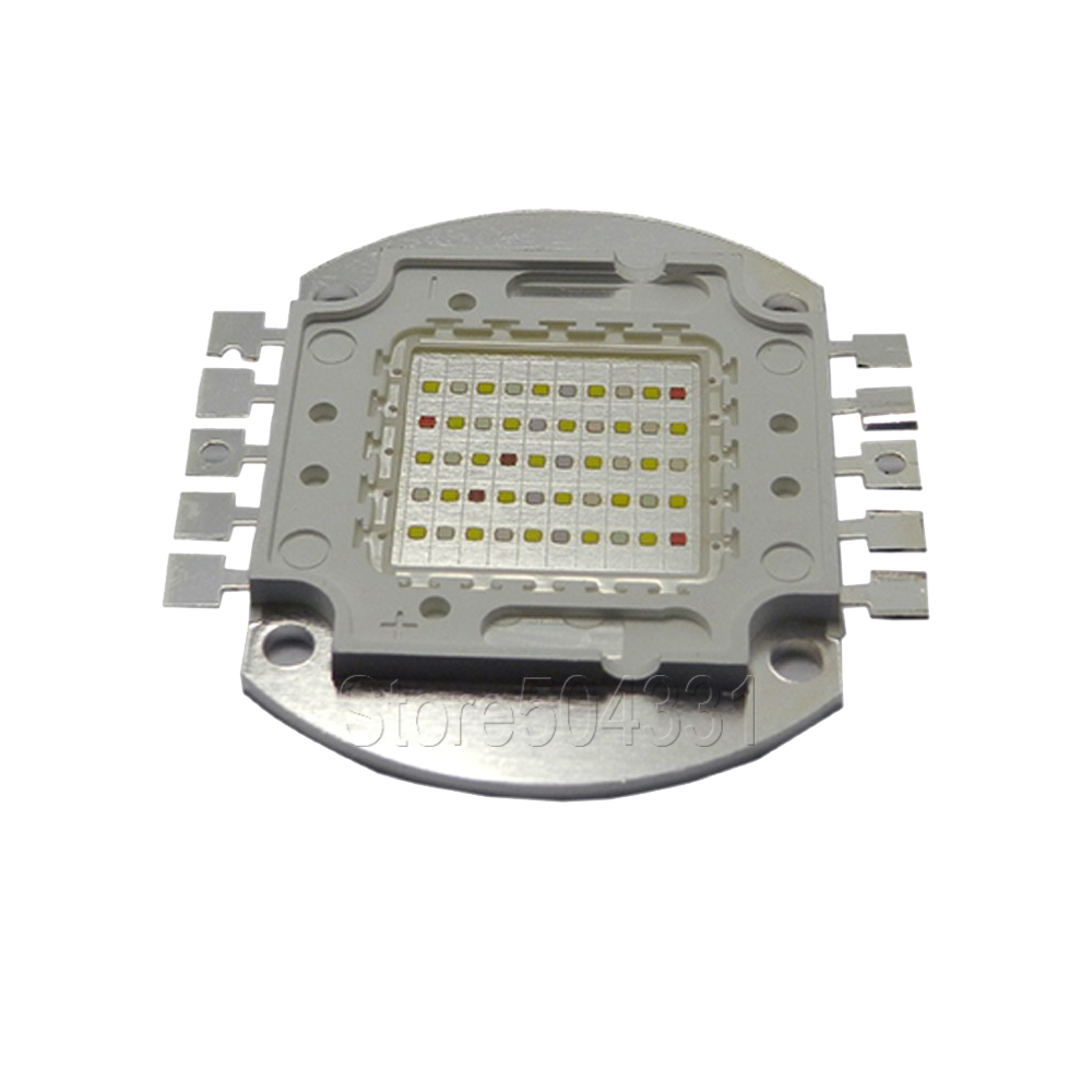 2015 Real Cree Xlamp 10pcs/lot Led Aquarium Light for Coral ,diy 50w Multichips Chip ,best for Fish Tank,for And Reef Growing