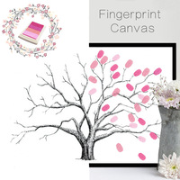 Home Decor DIY Finger Painting Craft Set Colorful Fingerpaint Tree Drawing Picutre Birthday Gift