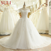 SuLi SL-435 New China Luxury 2017 Ball Gown Wedding Dresses