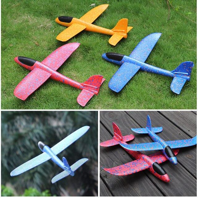 Modelo avión DIY juguetes para niños a mano aviones planeadores voladores bolsa de fiesta rellenos avión planeador volador juguetes para niños Juego de espuma EPP