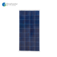 Cheap Solar Panels China Solar Panel 150W 156*156 Polycrystalline Solar Cells PV Module Placas Solares Fotovoltaico PVP150W