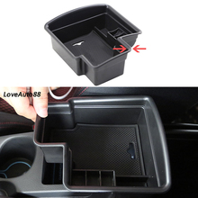 Central Armrest Storage Box Container Interior Stowing Tidying Accessories Car Styling For Nissan Qashqai J11 2016 2017