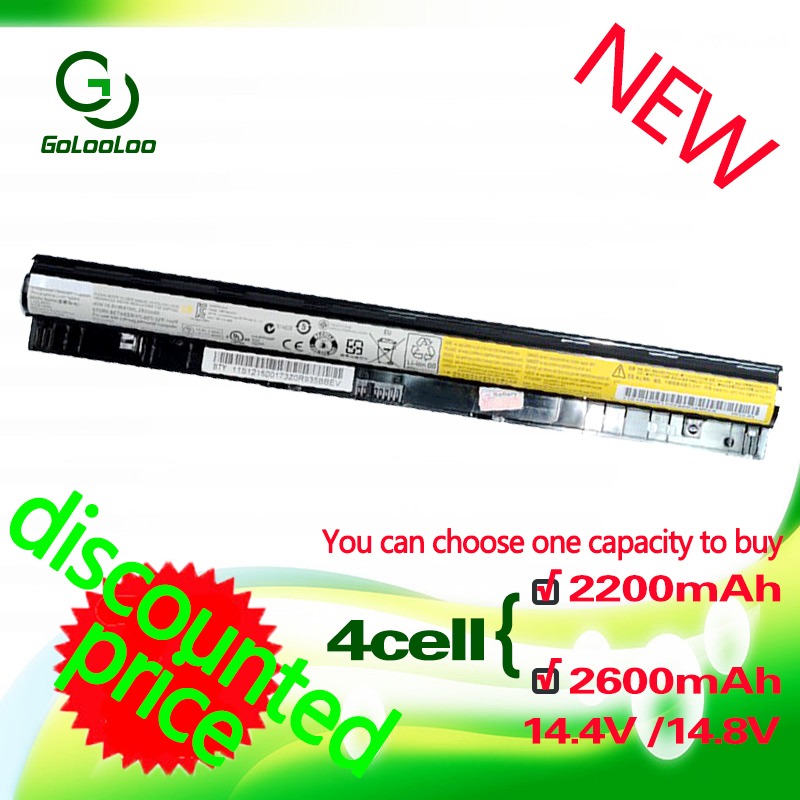 Golooloo L12L4A02 L12L4E01 L12M4A02 L12M4E01 L12S4A02 L12S4E01 Battery For Lenovo Thinkpad G400S G405S G410S G500S G505S G510S