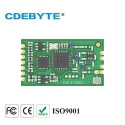 E32-433T20S2T Lora Lange Palette SX1278 433mhz 100mW IPX Stempel Loch Antenne uhf Wireless Transceiver Sender Empfänger Modul