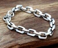 Friendship Bracelets 925sterling Silver Bracelet For Men 8mm 20cm Length Thai Silver