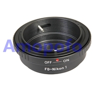 Amopofo FD-N1 Adapter,For Canon FD lens to for Nikon 1 N1 J1 J2 J3 J4 J5 S1 V1 V2 V3 AW1 Digital camera