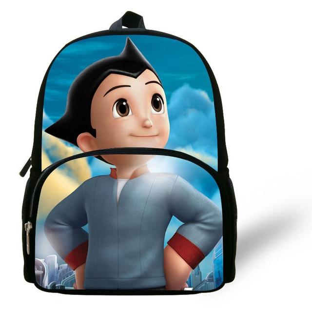12 Inch Mochila Escolar Astro Boy Backpack Kids School Cartoon Astro