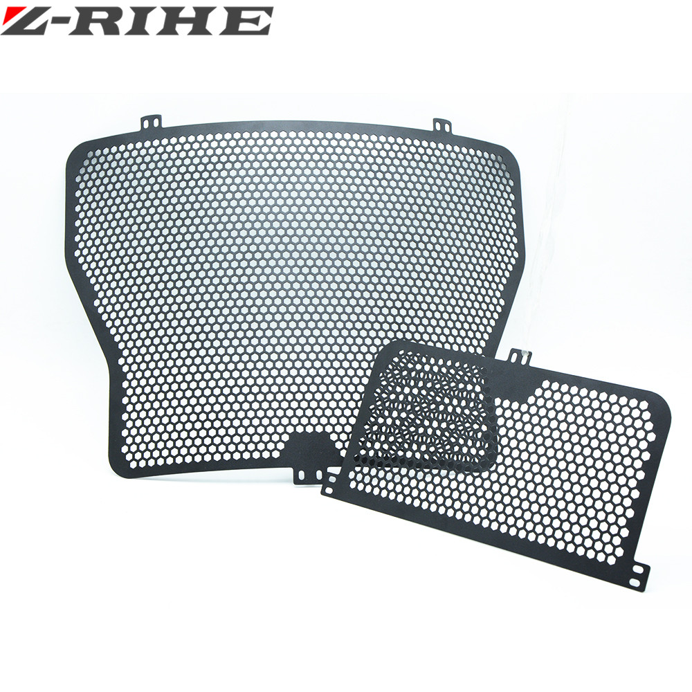 For BMW S1000RR 2014-2016 S1000R S1000XR 2013-2016 BMW HP4 2014-2016 Radiator and Oil Cooler Grille Guard Protector Cover black motorcycle radiator protective cover grill guard grille protector for kawasaki z1000sx ninja 1000 2011 2012 2013 2014 2015 2016