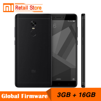 Original Xiaomi Redmi Note 4X 3GB 16GB Mobile Phone 4 X Snapdragon 625 Octa Core Smartphone 13.0MP 5.5