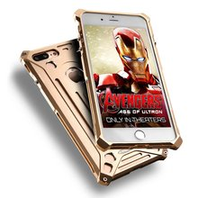 2018 New For Iphone 5 5s Se 6 6s 7 Plus For Kaneng Luxury Metal Overbearing Armor Cover Screw Big Retail Box Cool Sport Boy
