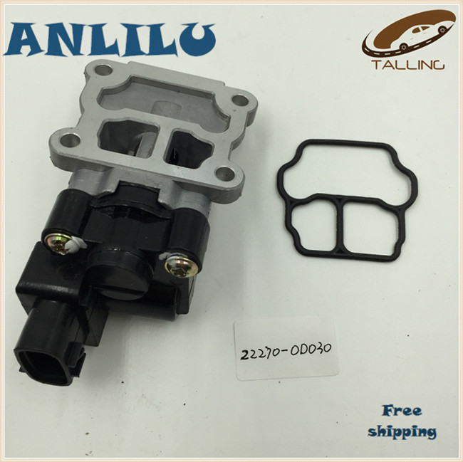 ANLILU Idle Air Control Valve IACV Apply To T OYOTA C orolla C hevrolet Prizm OEM 22270 0D030 22270 0D010 Free Shipping