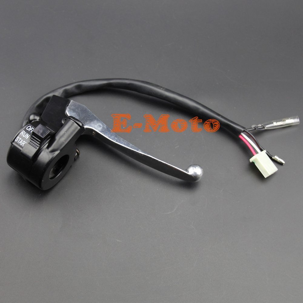 Image 3 - THROTTLE HOUSING KILL SWITCH BLOCK BRAKE LEVER GRIPS THROTTLE CABLE FOR PW50 PY50 PY PEEWEE PW 50 Y ZINGER E Moto-in Motorbike Ingition from Automobiles & Motorcycles
