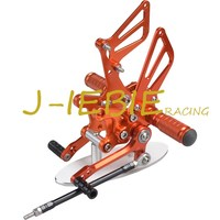 CNC Racing Rearset Adjustable Rear Sets Foot Pegs For Suzuki GSXR1000 2001 2004 GSXR600 GSXR750 2001