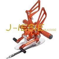 CNC Racing Rearset Adjustable Rear Sets Foot Pegs For Suzuki GSXR1000 2001 2004 GSXR600 GSXR750 2001