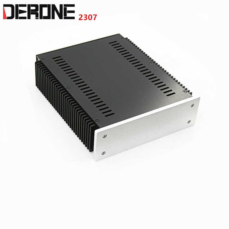 WA35 Full aluminum chassis Preamplifier enclosure Amplifier case//box 230*215*70