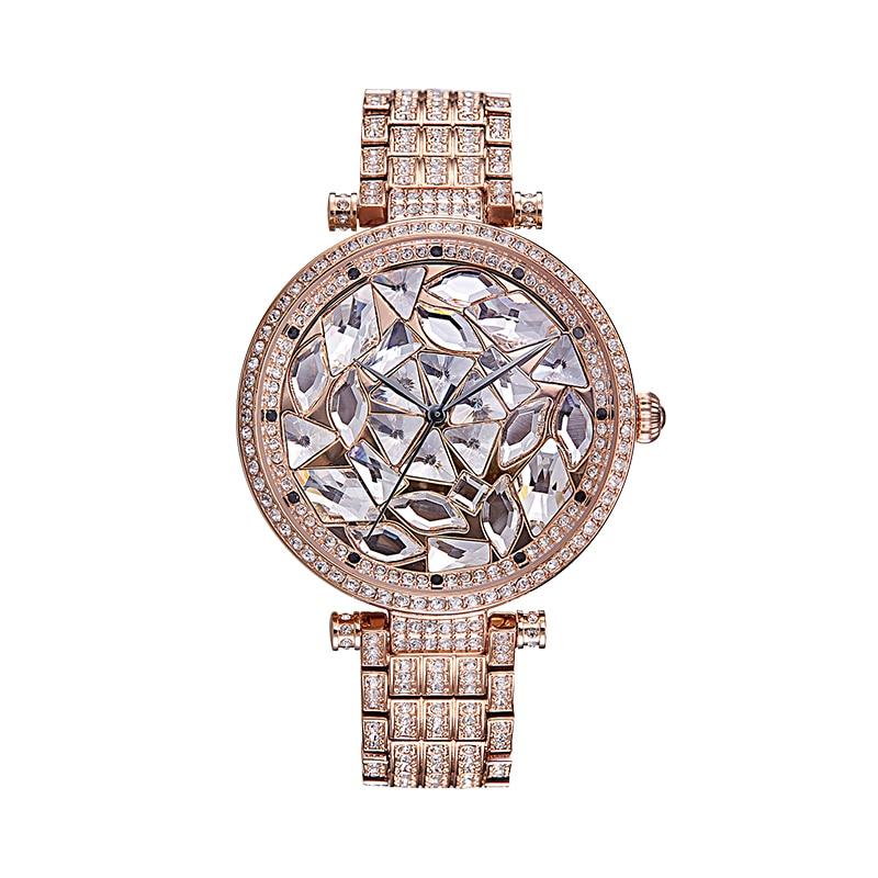 PB Brand Watches Women Luxury Silicon band watch Austria crystal Watch fashion Ladies Wristwatch Watch MOP