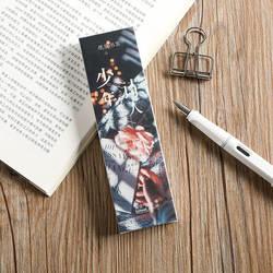 30 шт./компл. мультфильм для подростков поэта серии бумажная Закладка книжный держатель сообщения карты этикетки Kawaii подарок канцелярские