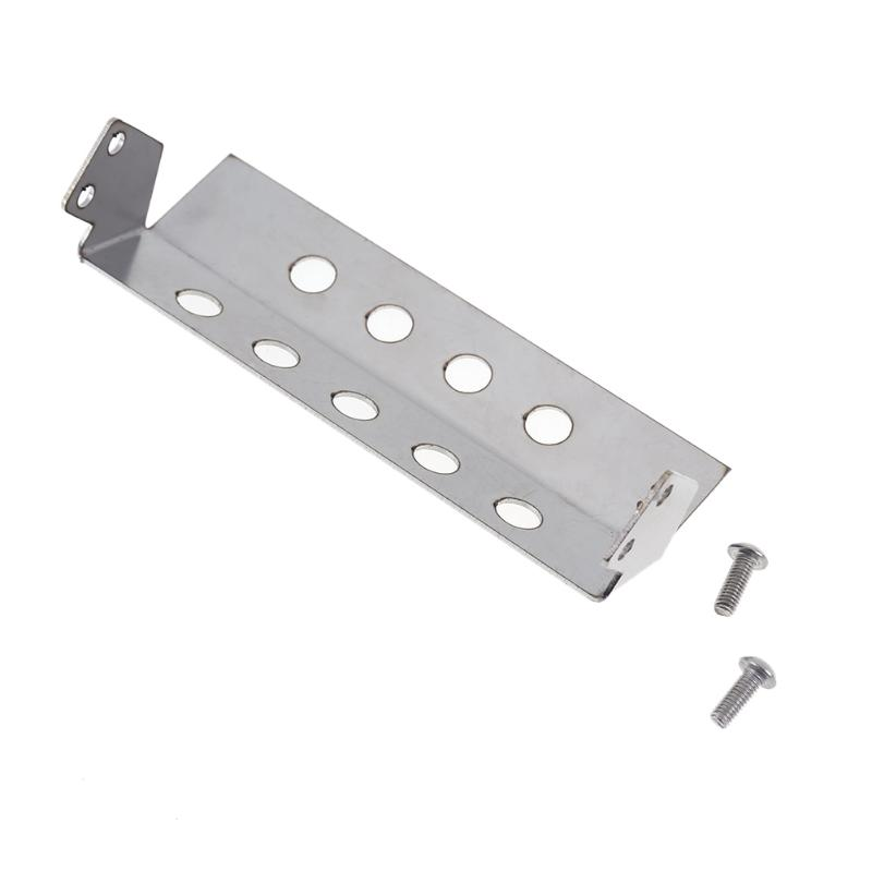 85*30*25mm Crawler Accessory D90 Stainless Steel Front Bumper For RC4WD 1/10 Axial Defender D90 CC01 model Car Useful Props мешок боксерский 90 см d 31 см 25 кг боецъ бмб 01 синий