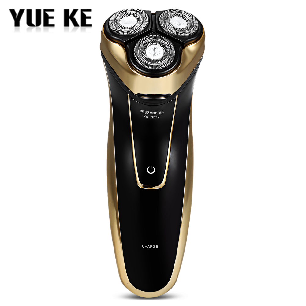 220V Rechargeable Electric Shaver For Men Washable 3D Triple Floating Blade Heads Shaving Machine Safe Face Care Beard Trimmer fast usb charging rechargeable electric 3d triple blade rotatry shaver floating razor shaving machine with washable heads male