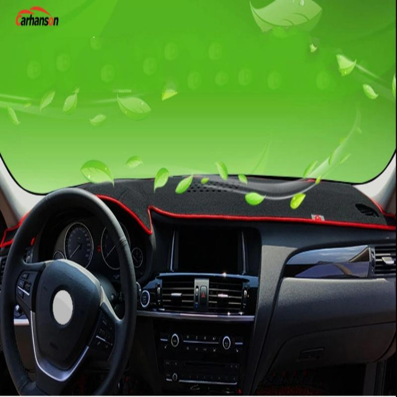 Car Dashboard Dash Pad Dash Protection Cover Sticker Anti-Slip Mat Guard For Hyundai Kona Accessories 2018 2019 Car Styling 1pcs