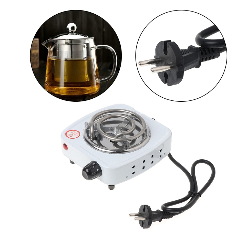 500W Electric Stove Hot Plate Burner Travel Cooking Appliances Portable Warmer