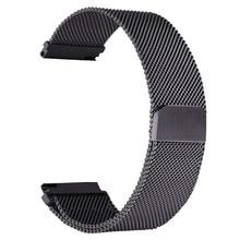 Milanese Loop Strap For Samsung Gear S3 Galaxy Watch 46mm 42mm Band 22mm 20mm Stainless Steel Bracelet for Gear S2 Huami Amazfit цена в Москве и Питере
