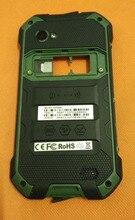 """Używane oryginalna tylna ramka shell case + głośnik + szkiełko aparatu dla Blackview BV6000 MT6755 Octa Core 4.7 """"HD darmowa wysyłka"""