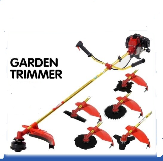 New Model 52 CC Brush Cutter,grass Trimmer,weed Trimmer,whipper Snipper 5 Blades+auto Bump
