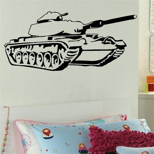 From Seword Wall Art Vinyl Lettering Home Decor ~ Army tank children bedroom art decor wall sticker vinyl